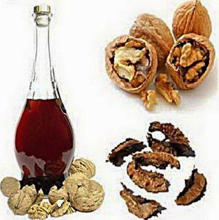 1-настойка на грецких орехах