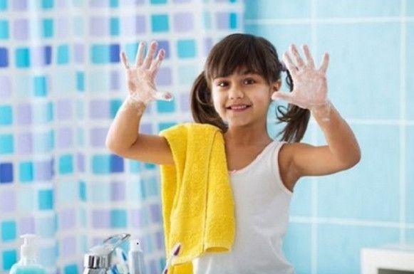 нужно мыть руки