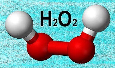 Молекула перекиси водорода