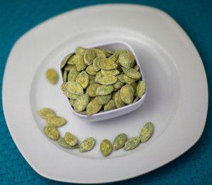 Семена тыквы с чесноком