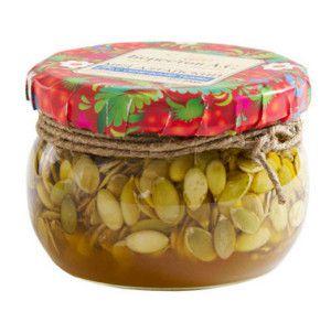 тыквенные семечки с медом