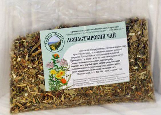 монастырский антипаразитарный чай - состав